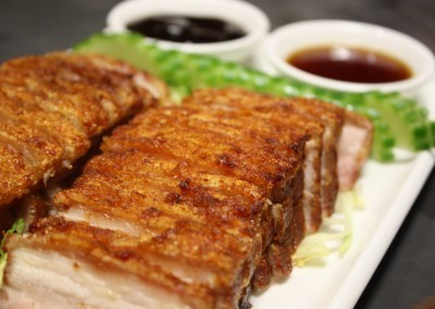 Crispy Roast Pork at Noodle House Mitchell