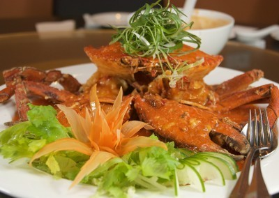 Mud Crab in Singapore Chili Sauce at Noodle House Mitcham