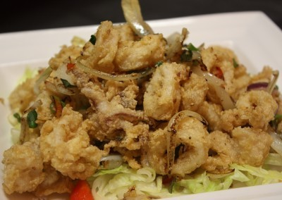 Spicy Salted Calamari at Noodle House Mitchell