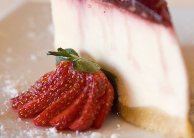 Strawberry Cheese Cake at Noodle House Mitchell